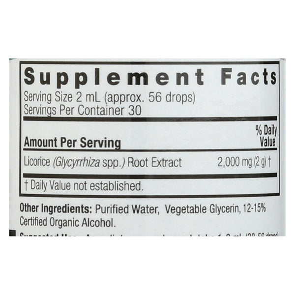 Nature's Answer Licorice Root - 2 fl oz