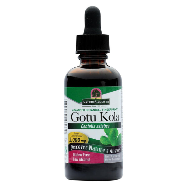 Nature's Answer Gotu Kola Herb - 2 fl oz