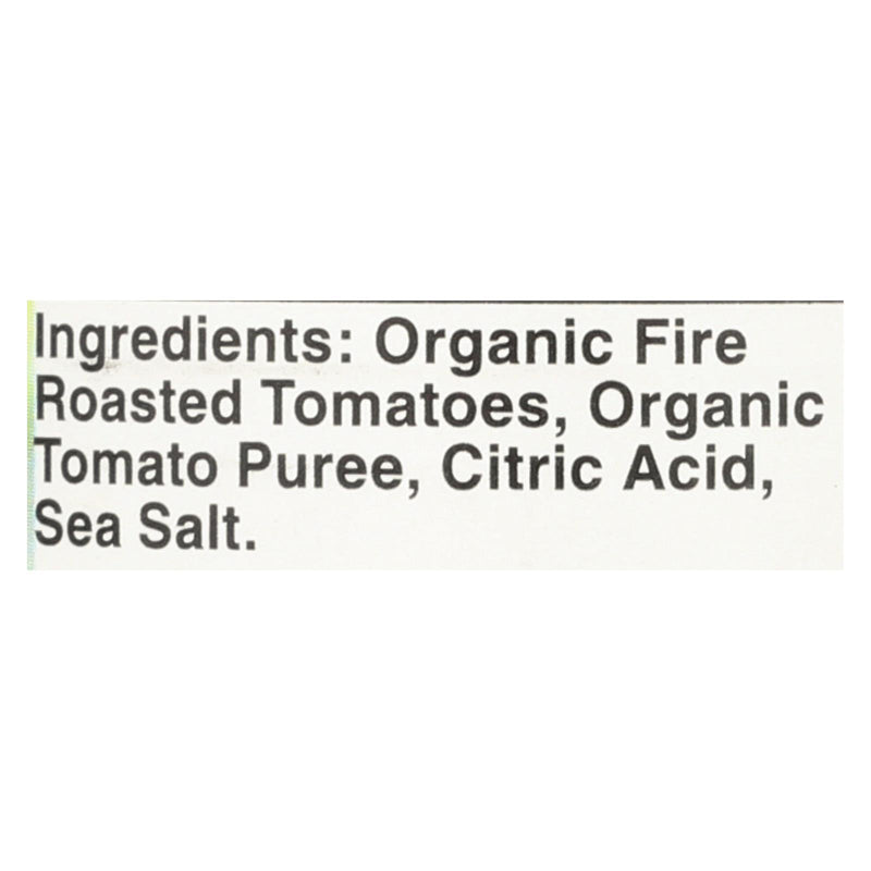 Muir Glen Fire Roasted Crushed Tomatoes - Tomato - Case of 12 - 14.5 oz