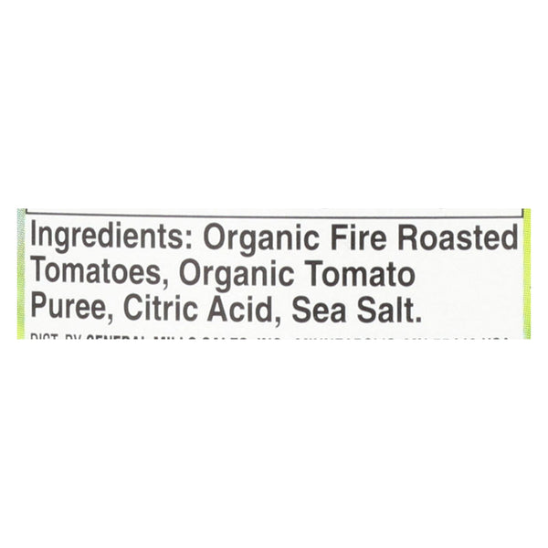 Muir Glen Fire Roasted Crushed Tomato - Tomato - Case of 12 - 28 oz