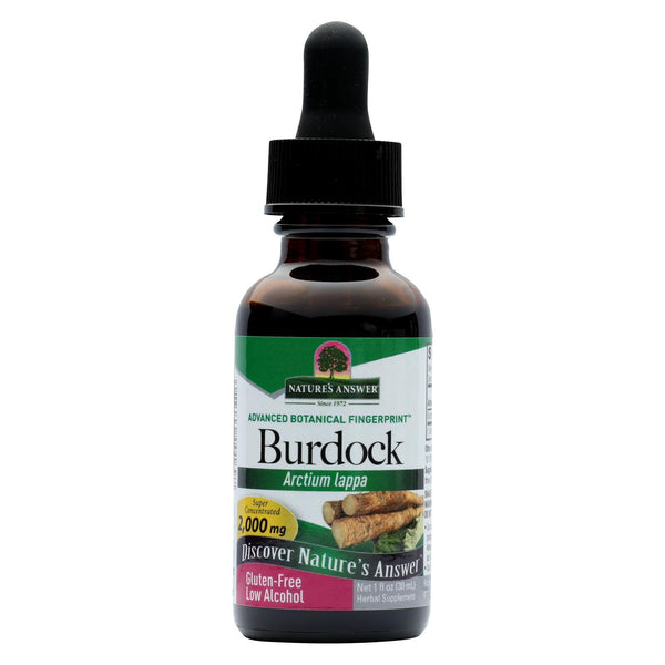 Nature's Answer Burdock Root - 1 fl oz