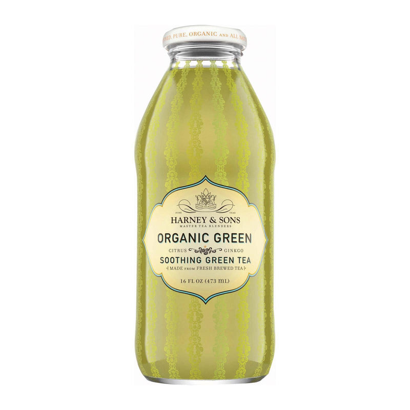 Harney and Sons Organic Green With Citrus and Ginkgo - Citrus and Ginkgo - Case of 12 - 16 oz