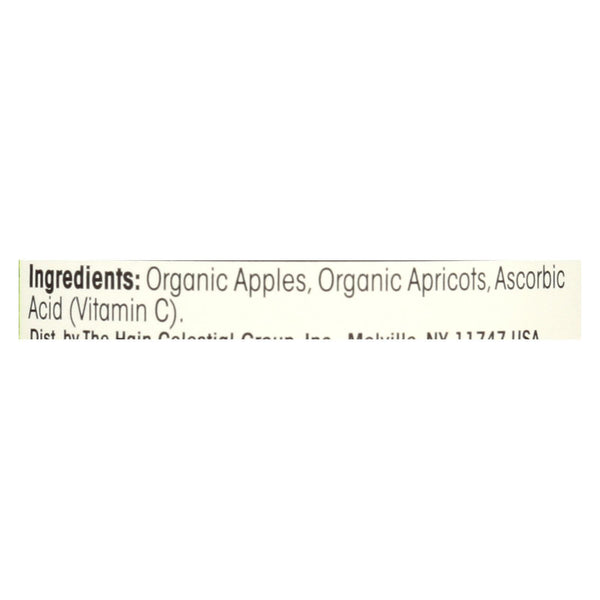 Earth's Best Organic Apples and Apricots Baby Food - Stage 2 - Case of 12 - 4 oz