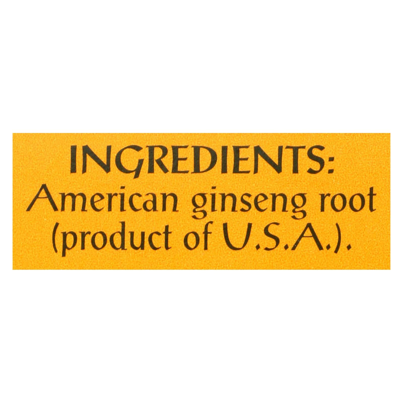 Triple Leaf Tea American Ginseng - Caffeine Free - Case of 6 - 20 bags