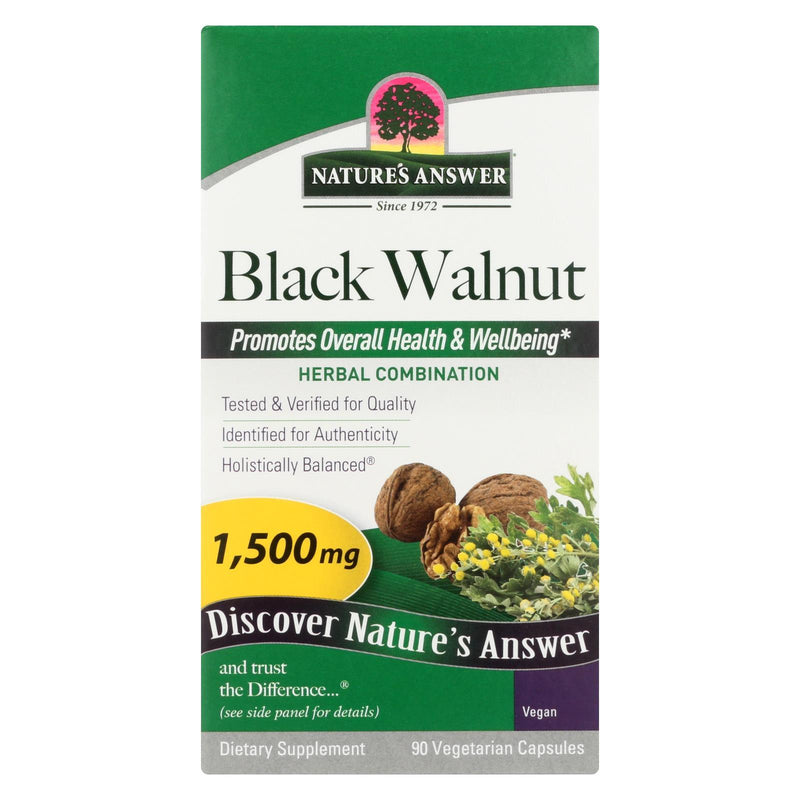 Nature's Answer Black Walnut Complex - 90 vcaps
