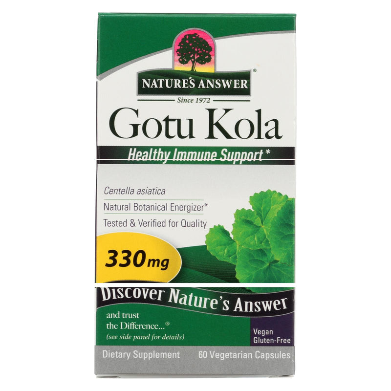 Nature's Answer Gotu Kola Herb - 60 vcaps
