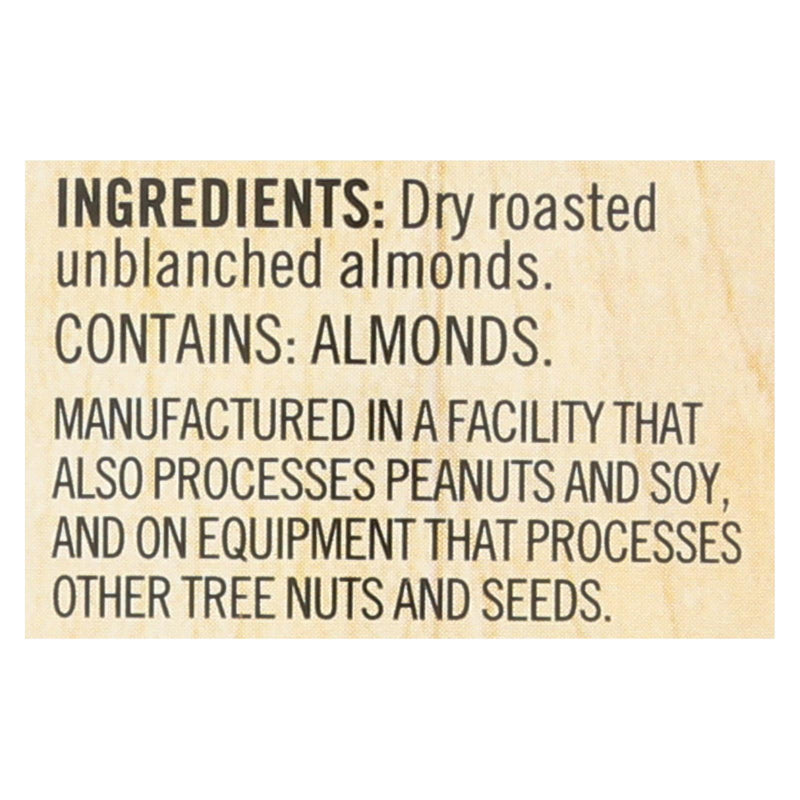 Woodstock Unsalted Crunchy Almond Butter - Case of 12 - 16 oz