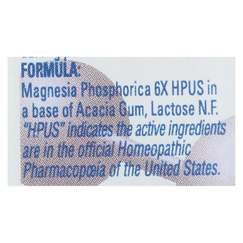 Hylands Homeopathic Number 8 Magnesia Phosphorica 6x - 500 tabs