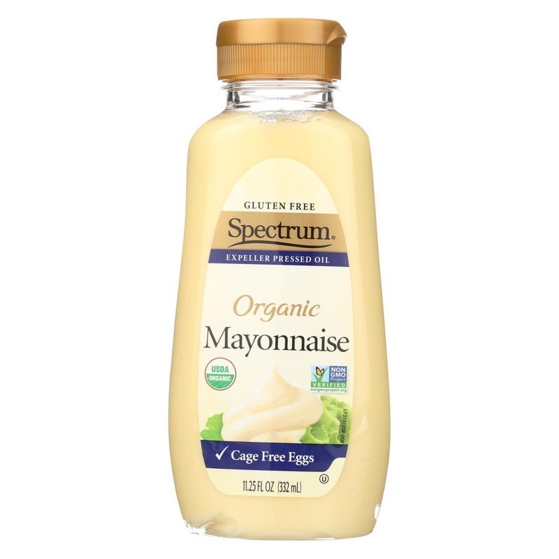 Spectrum Naturals Organic Mayonnaise With Cage Free Eggs - Case of 12 - 11.25 oz