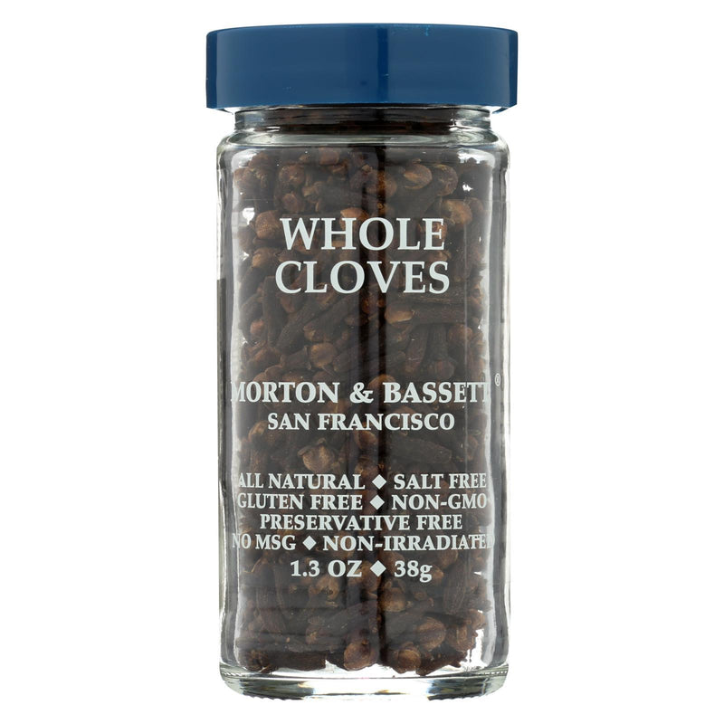 Morton and Bassett Seasoning - Cloves - Whole - 1.3 oz - Case of 3
