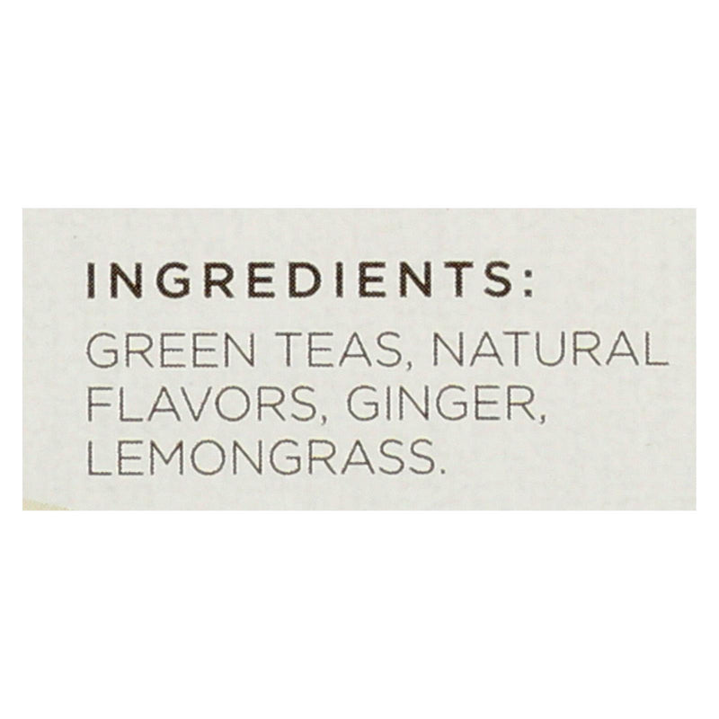 Tazo Tea Green Tea - Ginger - Case of 6 - 20 Bag