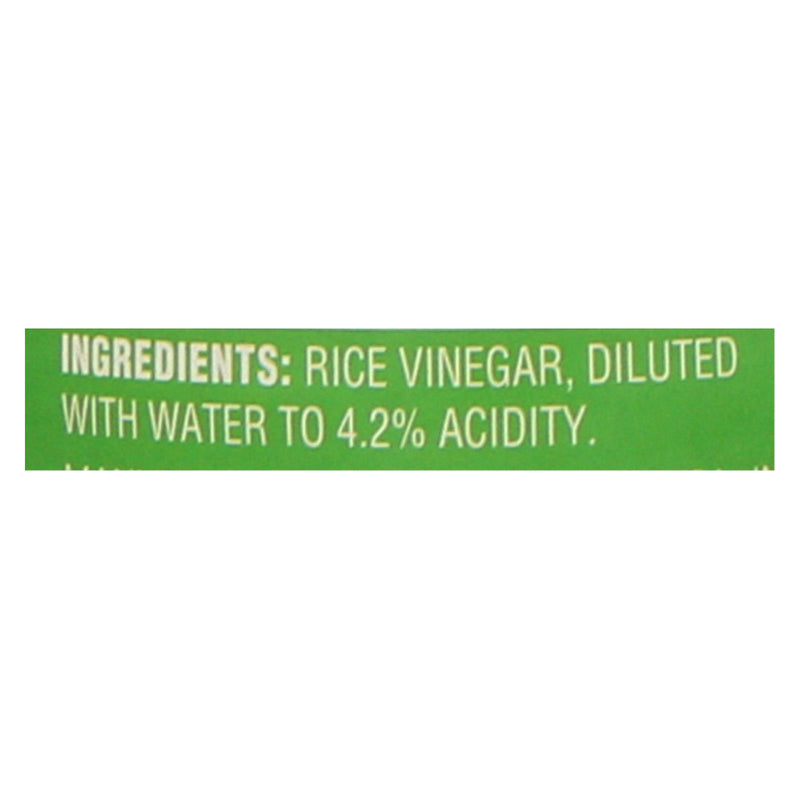 Nakano Rice Vinegar - Vinegar - Case of 6 - 12 fl oz
