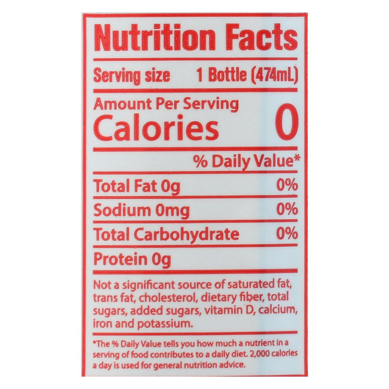 Hint Grapefruit Water - Mango Grapefruit - Case of 12 - 16 fl oz