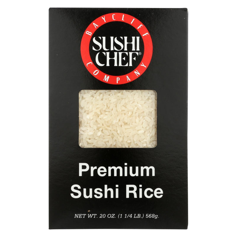 Sushi Chef Premium Sushi Rice - Case of 6 - 20 oz