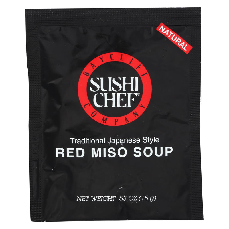 Sushi Chef Soup Mix - Miso Red - 0.53 oz - Case of 12