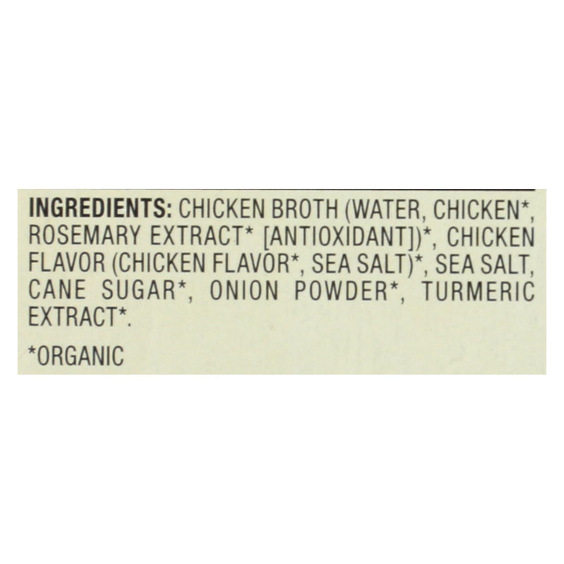 Pacific Natural Foods Chicken Broth - Free Range - Case of 6 - 8 fl oz