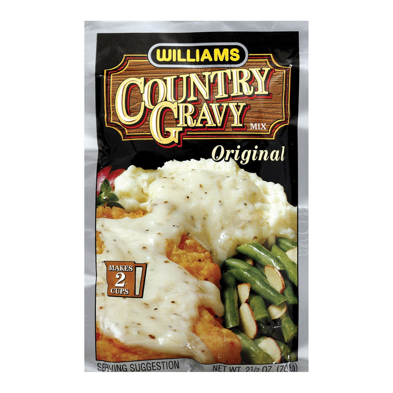Williams ctry Gravy - Real Sausage - Case of 12 - 2.5 oz