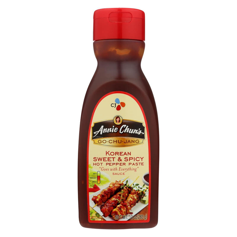 Annie Chun's Go Chu Jang Korean Sweet and Spicy Sauce - Case of 6 - 10 fl oz