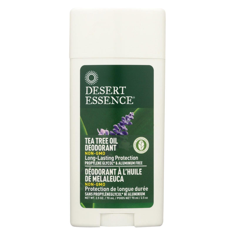 Desert Essence Tea Tree Oil Deodorant - 2.5 oz