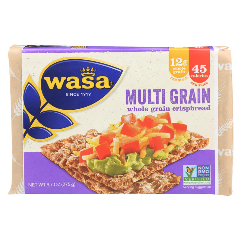 Wasa Crispbread Multigrain - Whole Grain - Case of 12 - 9.7 oz
