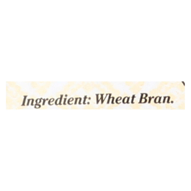 Bob's Red Mill Wheat Bran - 20 oz - Case of 4