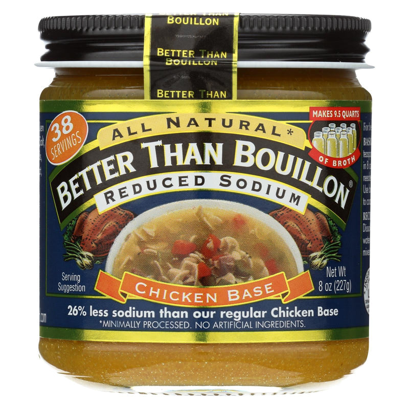 Better Than Bouillon Seasoning - Roasted Chicken Base - Case of 6 - 8 oz