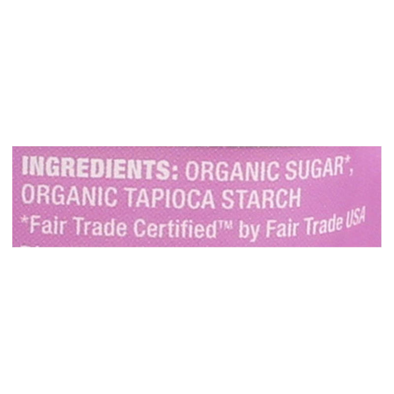Wholesome Sweeteners Powdered Sugar - Organic and Natural - Case of 6 - 1 lb