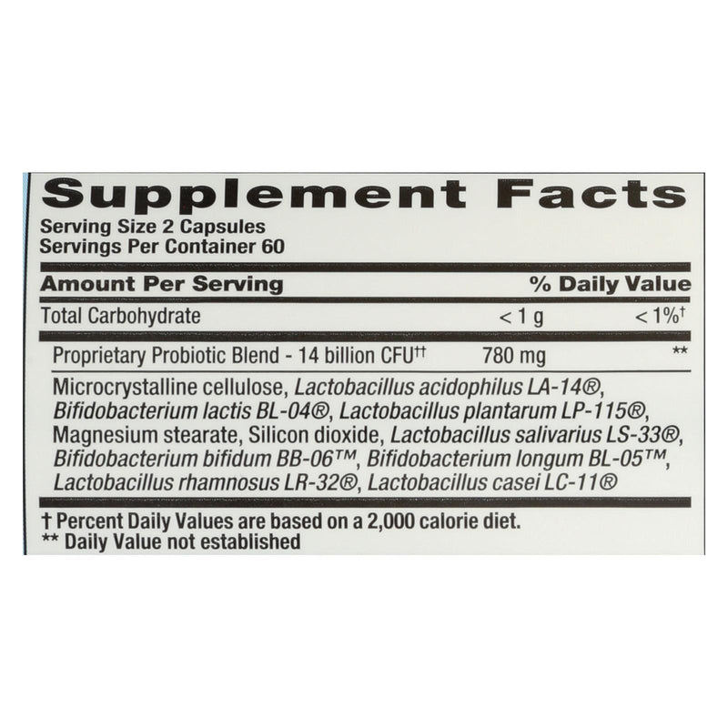 Nutrition Now Pb 8 Pro-biotic Acidophilus For Life - 120 vcaps