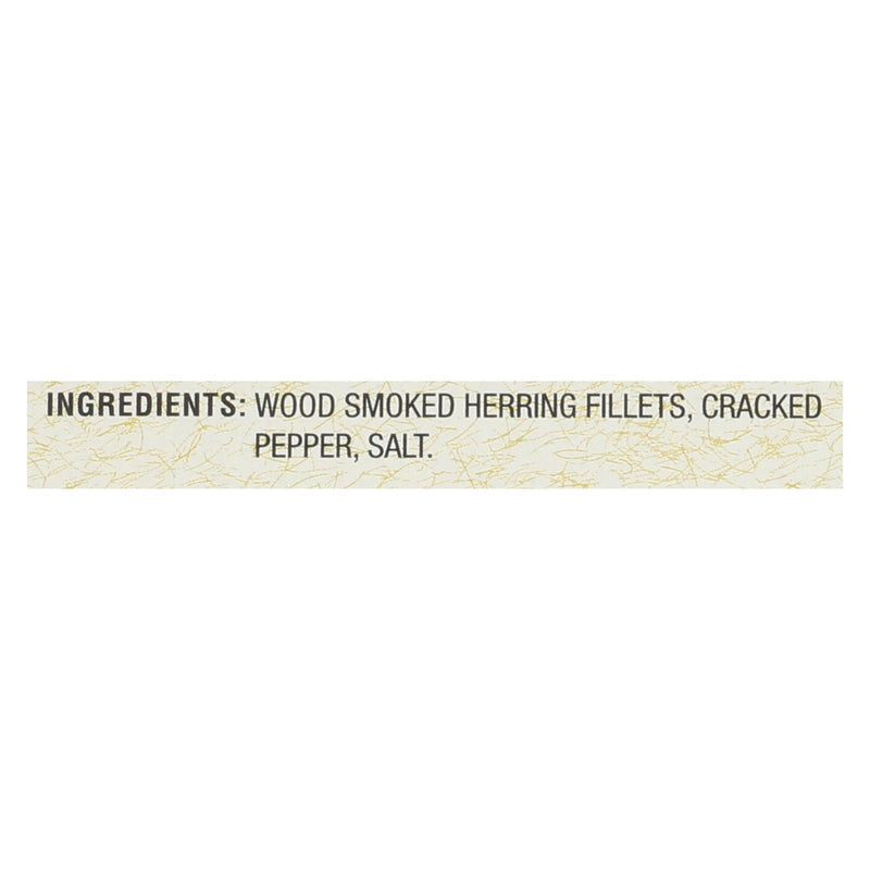 Bar Harbor Wild Herring Fillets - Cracked Pepper - Case of 12 - 6.7 oz