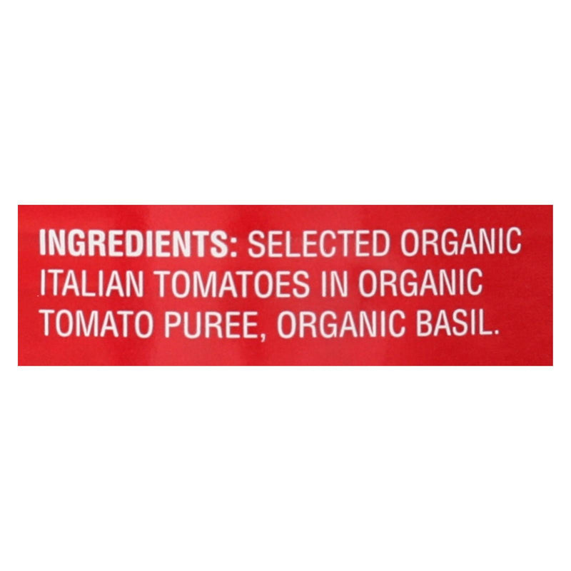 Bella Terra Organic Italian Whole Peeled Tomatoes - San Marzano - Case of 12 - 28 oz