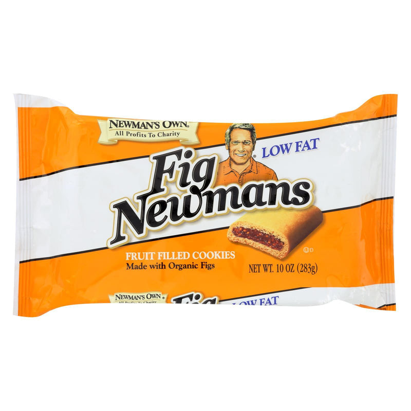 Newman's Own Organics Fig Newman's - Low Fat - Case of 6 - 10 oz