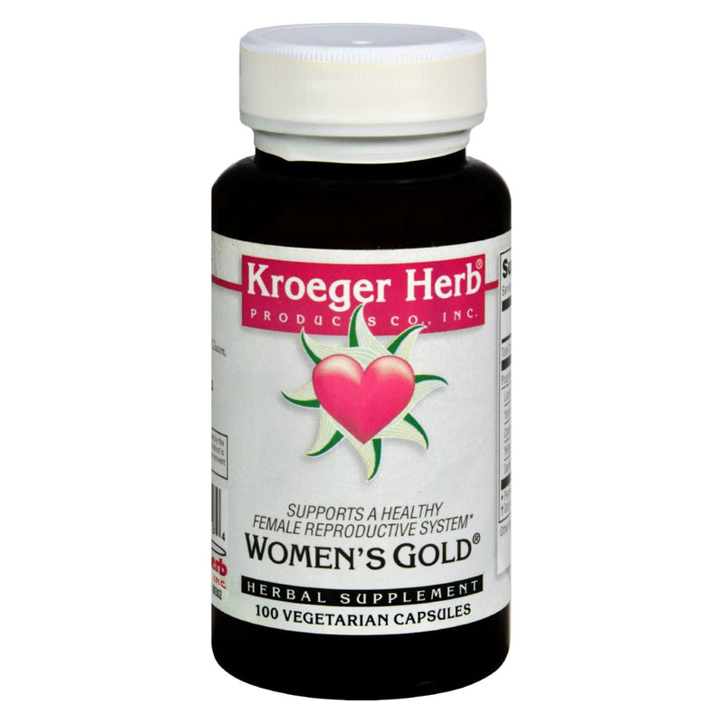 Kroeger Herb Women's Gold - 100 caps