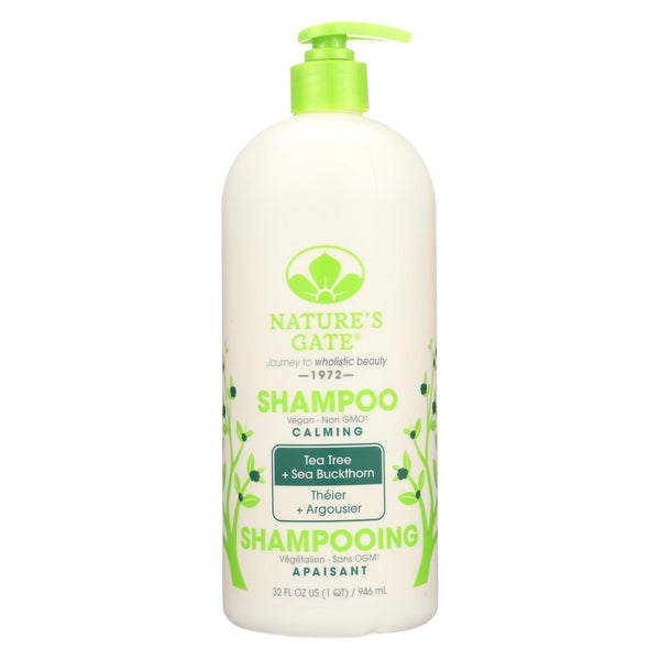 Nature's Gate Tea Tree Calming Shampoo - 32 oz