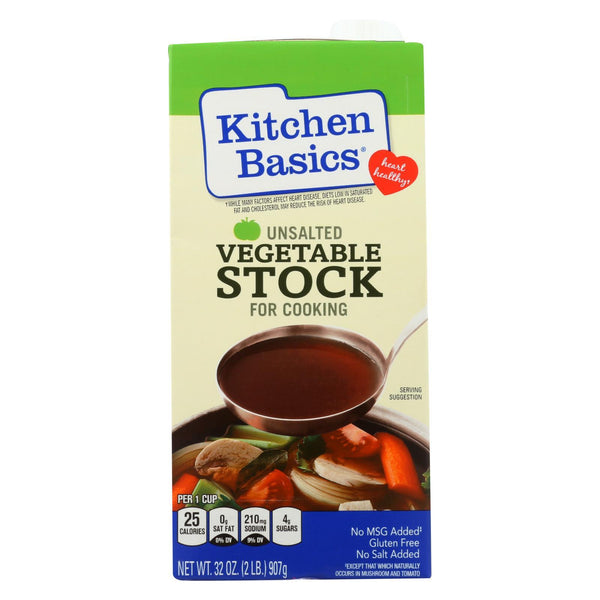 Kitchen Basics Vegetable Stock - Case of 12 - 32 fl oz