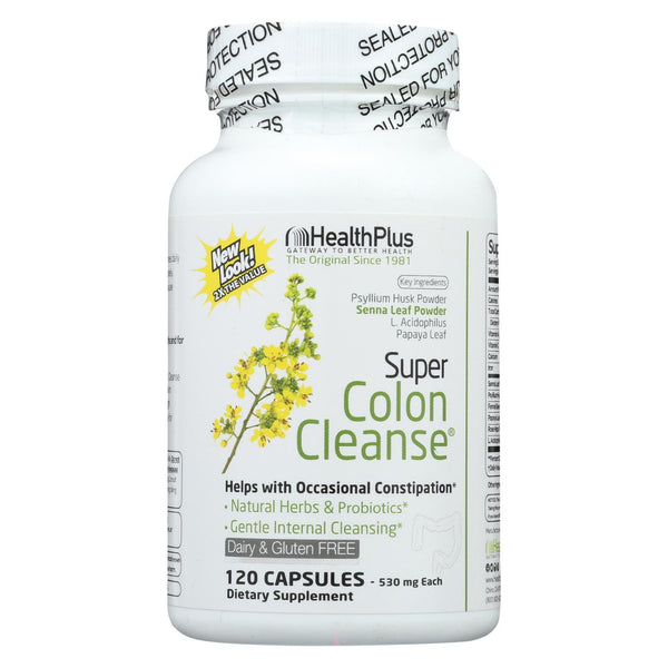 Health Plus Super Colon Cleanse - 120 caps