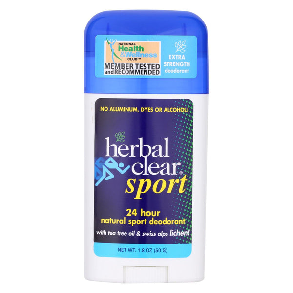 Herbal Clear 24 Hour Natural Sport Deodorant - 1.8 oz