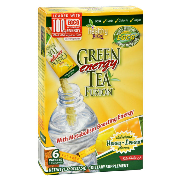 To Go Brands Green Tea Energy Fusion - 6-1.32oz