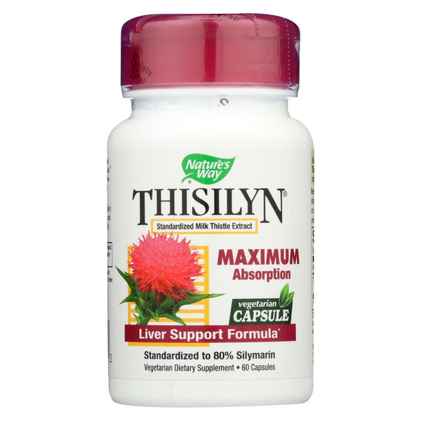 Nature's Way Thisilyn Standardized Milk Thistle Extract - 60 caps