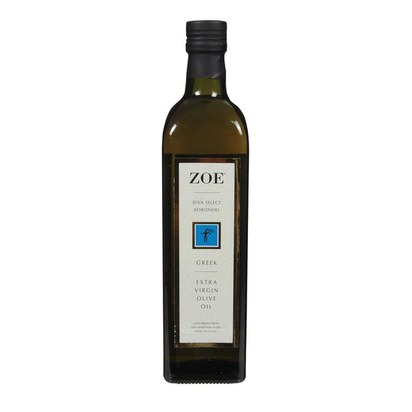 Zoe Diva Greek Olive Oil - Case of 6 - 25.5 fl oz