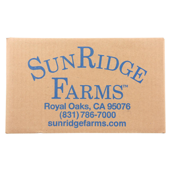 Sunridge Farms All Natural Dark Chocolate Blueberries - Case of 10 - 1 lb