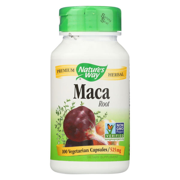 Nature's Way Maca Root - 100 caps