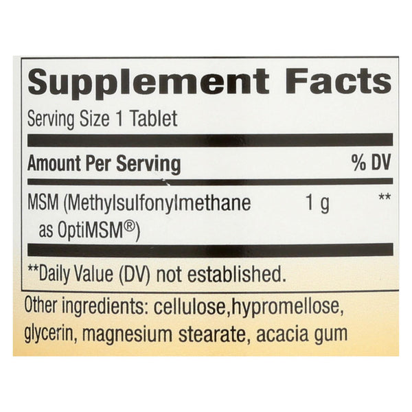 Nature's Way Msm - 1000 mg - 120 tabs