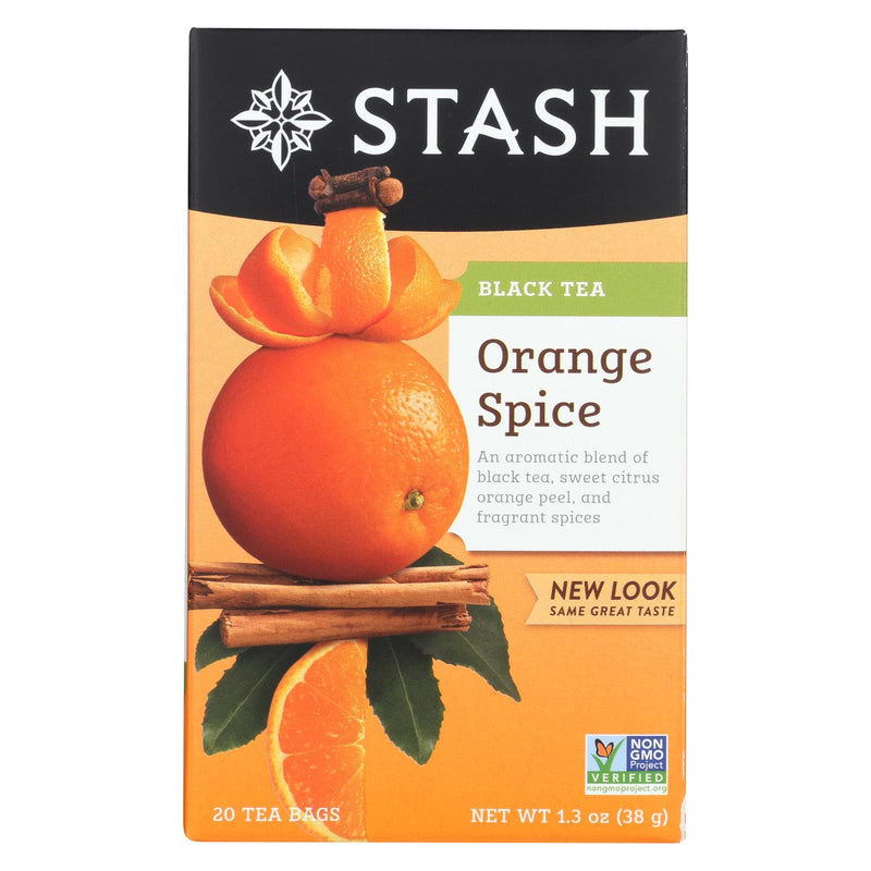 Stash Tea Tea - Black - Orange Spice - Case of 6 - 20 ct