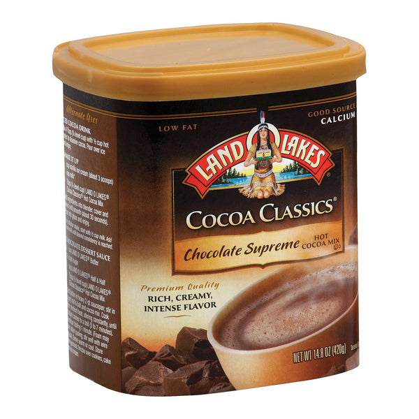 Land O Lakes Cocoa Classics - Supreme Hot - Case of 6 - 14.8 oz