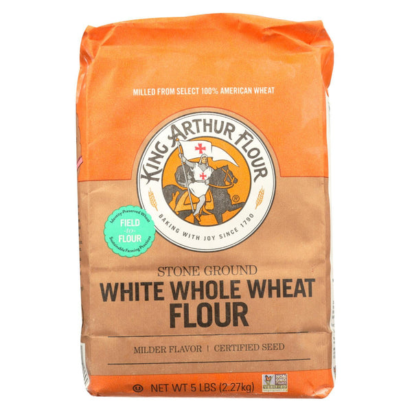 King Arthur Whole Wheat Flour - Case of 8 - 5