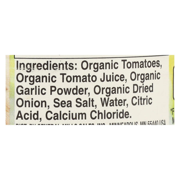 Muir Glen Diced Tomatoes With Garlic and Onion - Tomato - Case of 12 - 14.5 oz
