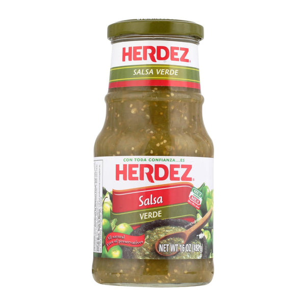 Herdez Salsa - Verde - Case of 12 - 16 oz