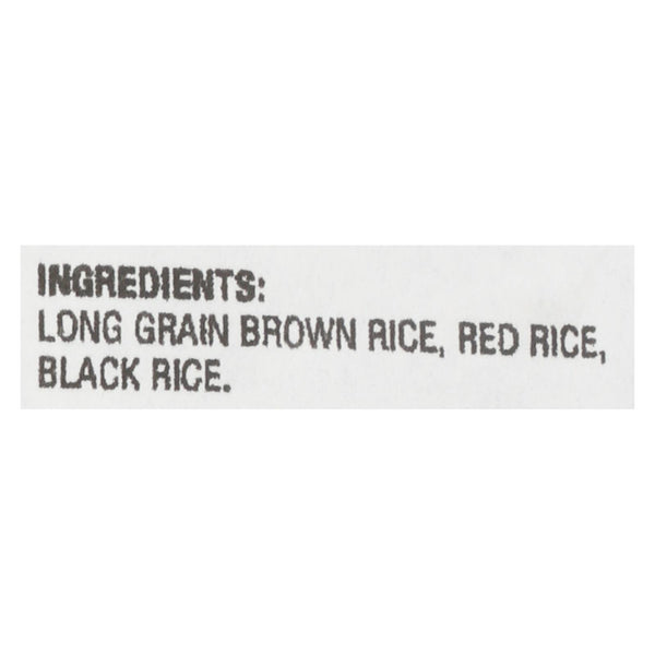 Lundberg Family Farms Whole Grain Brown Rice - Case of 25 - 1 lb