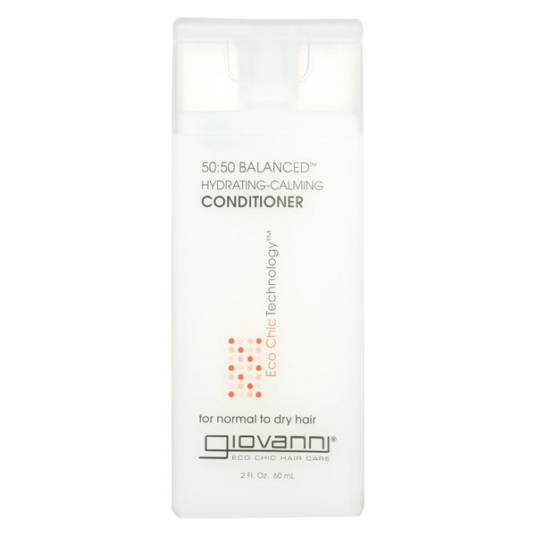 Giovanni 50:50 Balanced Conditioner Hydrating-calming - 2 fl oz - Case of 12