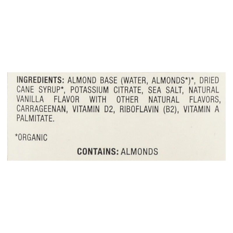 Pacific Natural Foods Almond Vanillailla - Non Dairy - Case of 12 - 32 fl oz